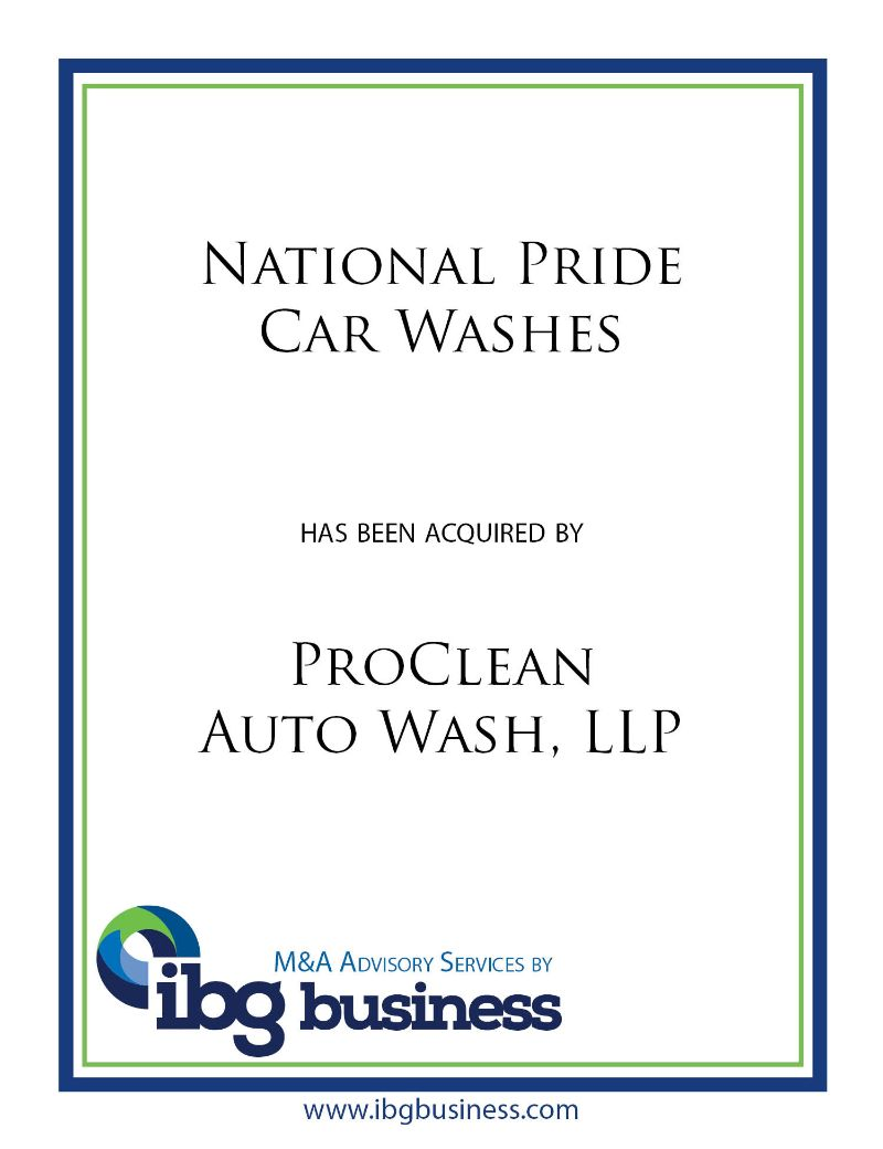 National Pride Car Washes