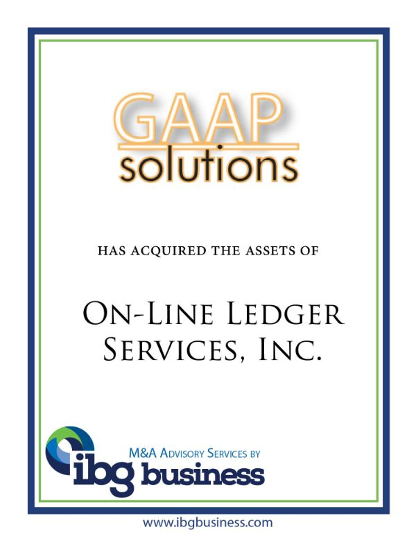 On-Line Ledger Services, Inc.