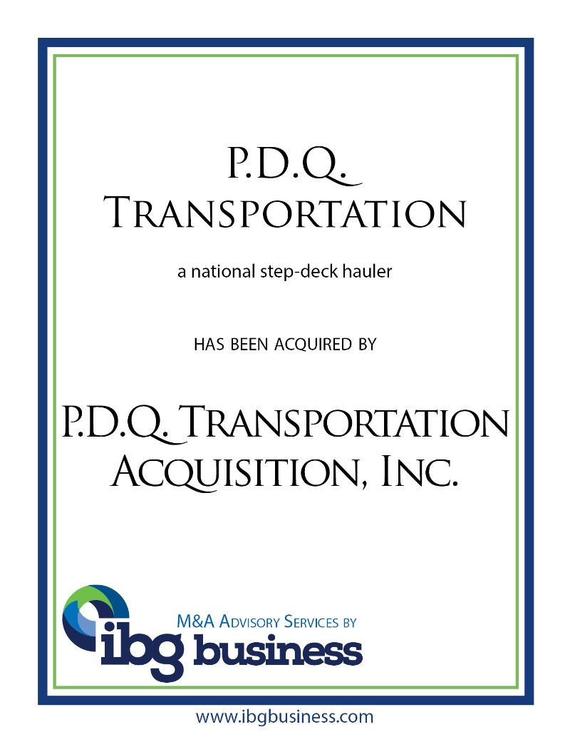 P.D.Q. Transportation