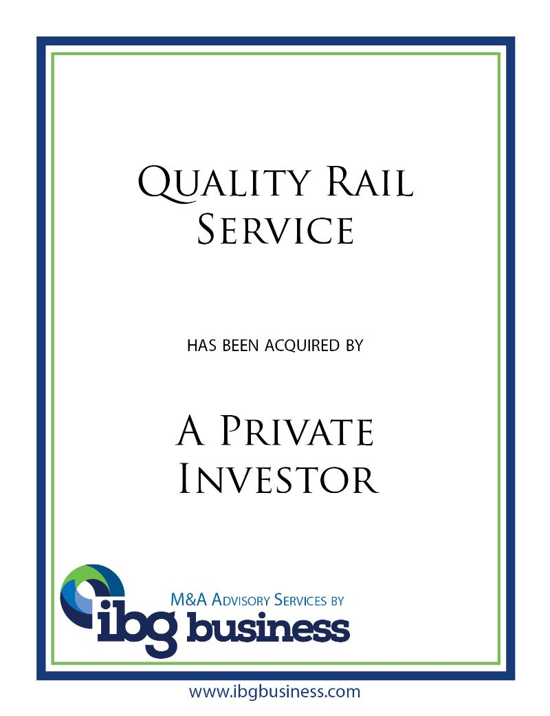 Quality Rail Service