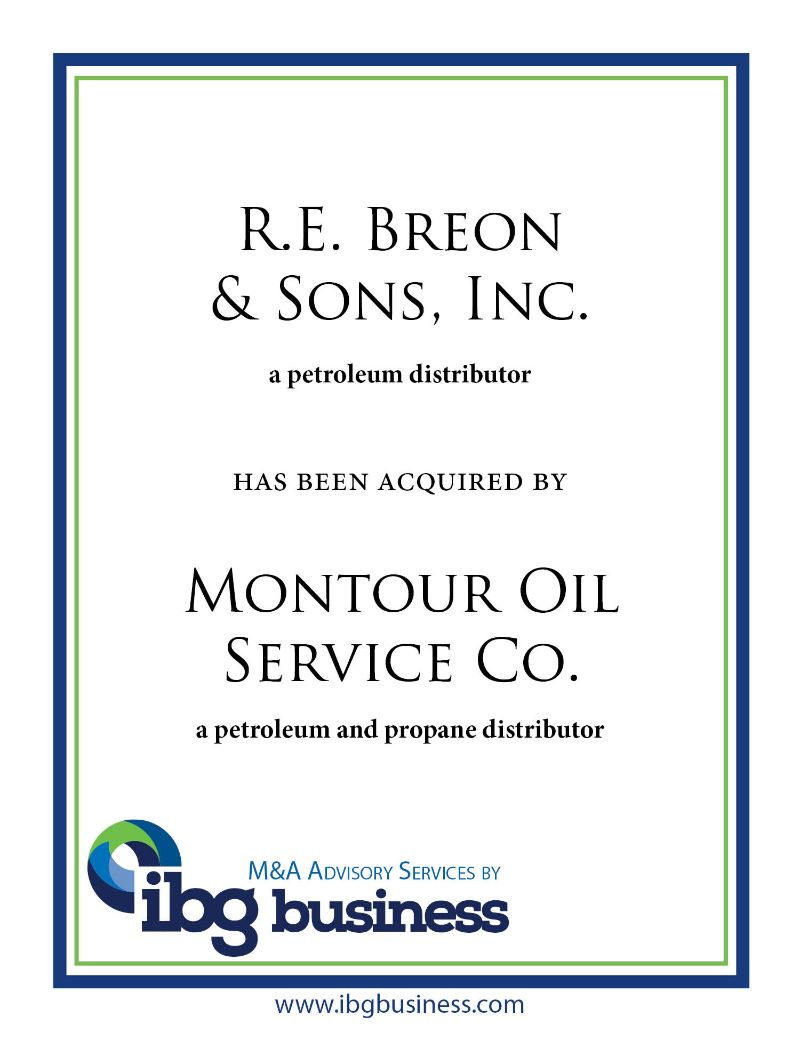R. E. Breon & Sons, Inc.