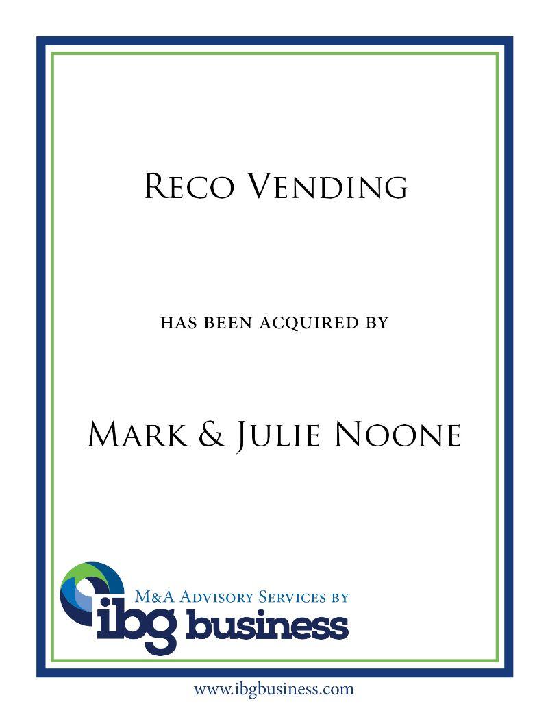 Reco Vending