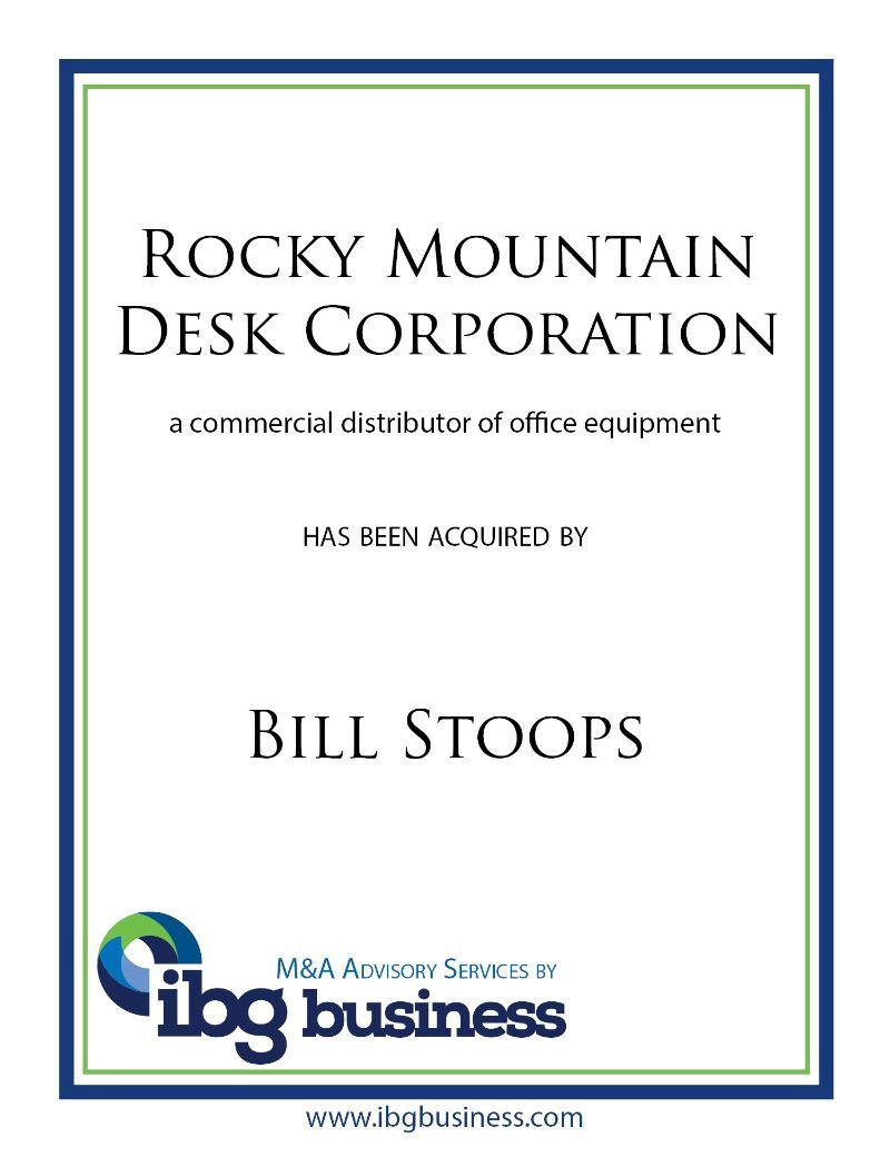 Rocky Mountain Desk Corporation