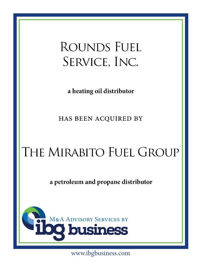 Rounds Fuel Service, Inc.