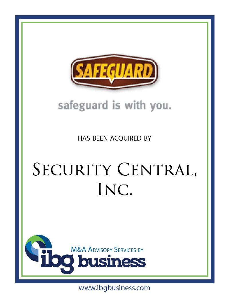 Safeguard Security Systems