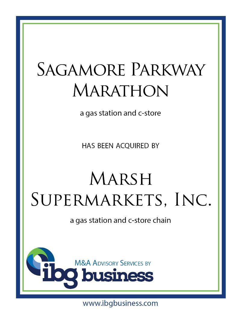Sagamore Parkway Marathon