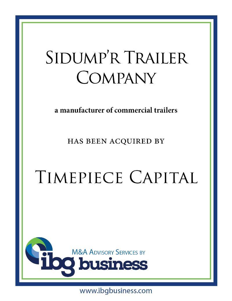 Sidump'r Trailer Company