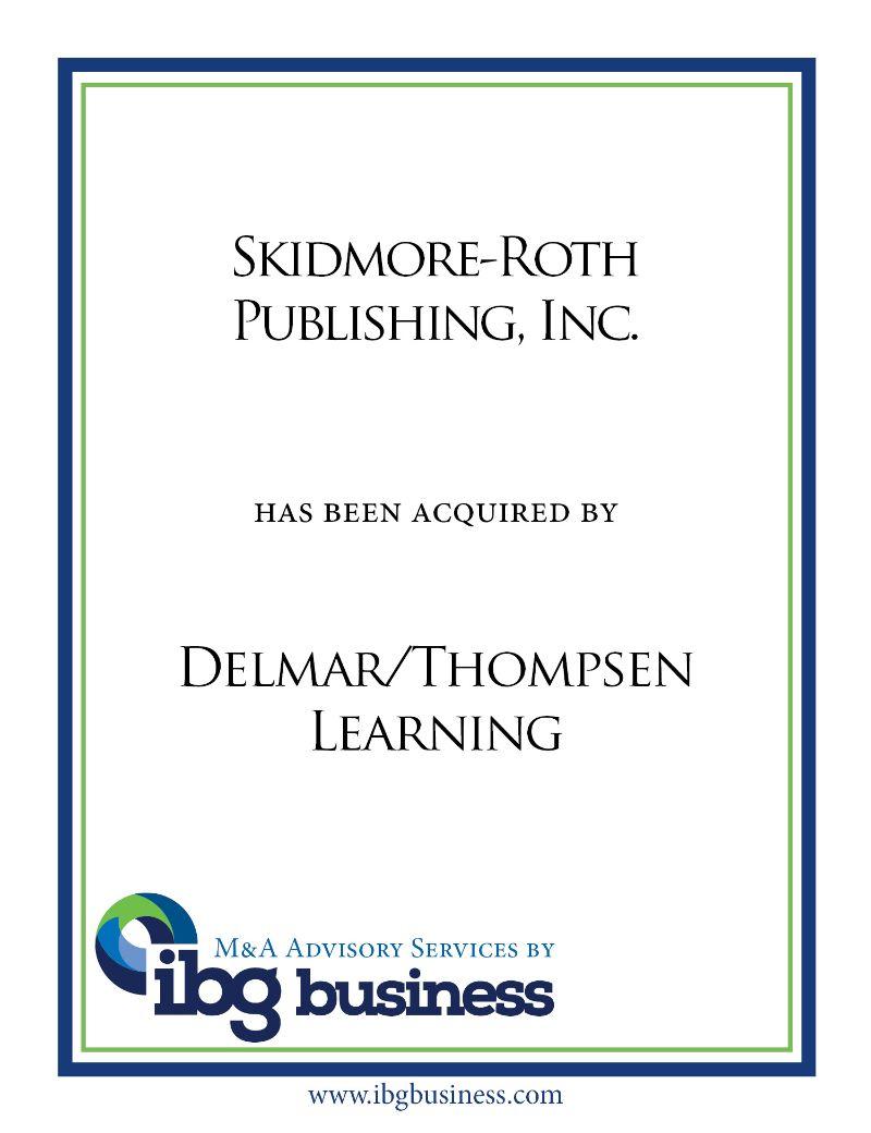 Skidmore-Roth Publishing, Inc.