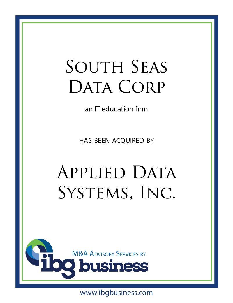 South Seas Data Corp