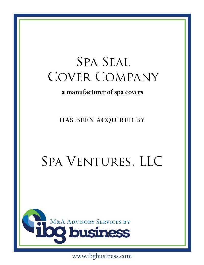 Spa Seal Cover Company