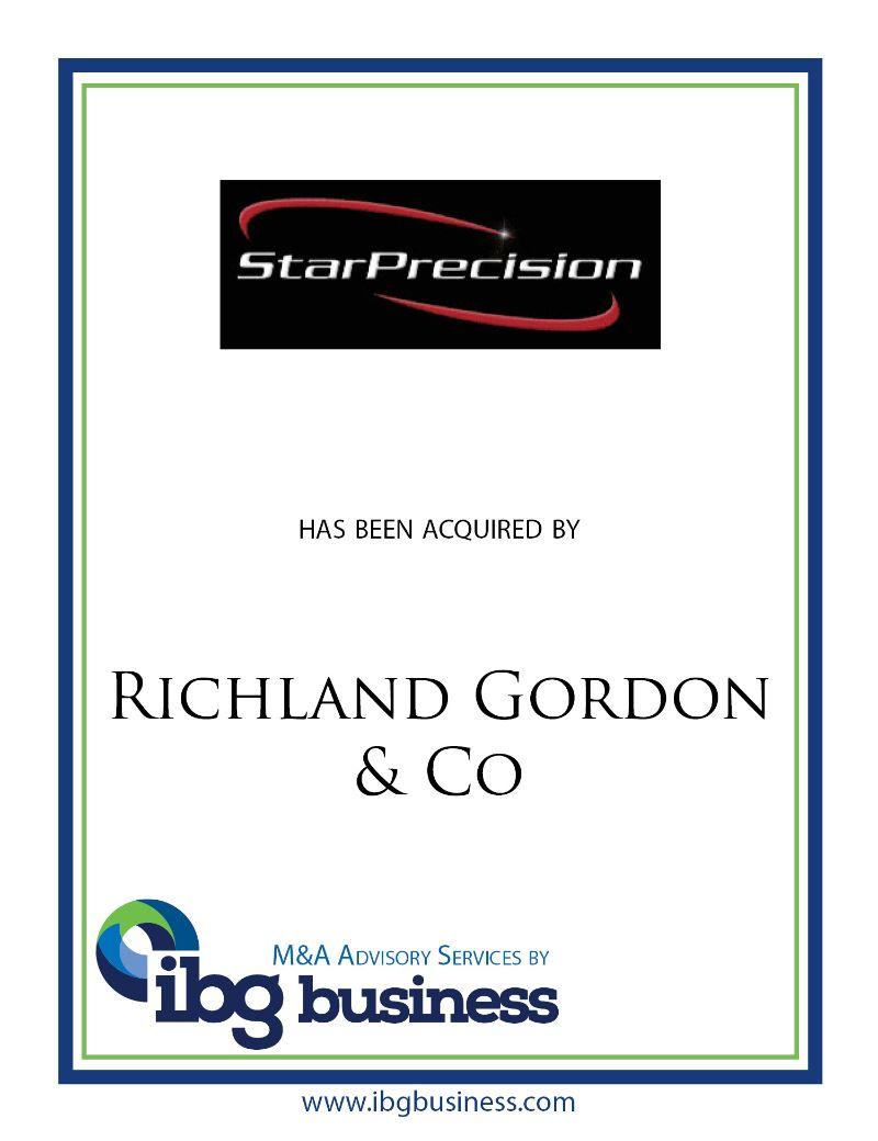 Star Precision, Inc