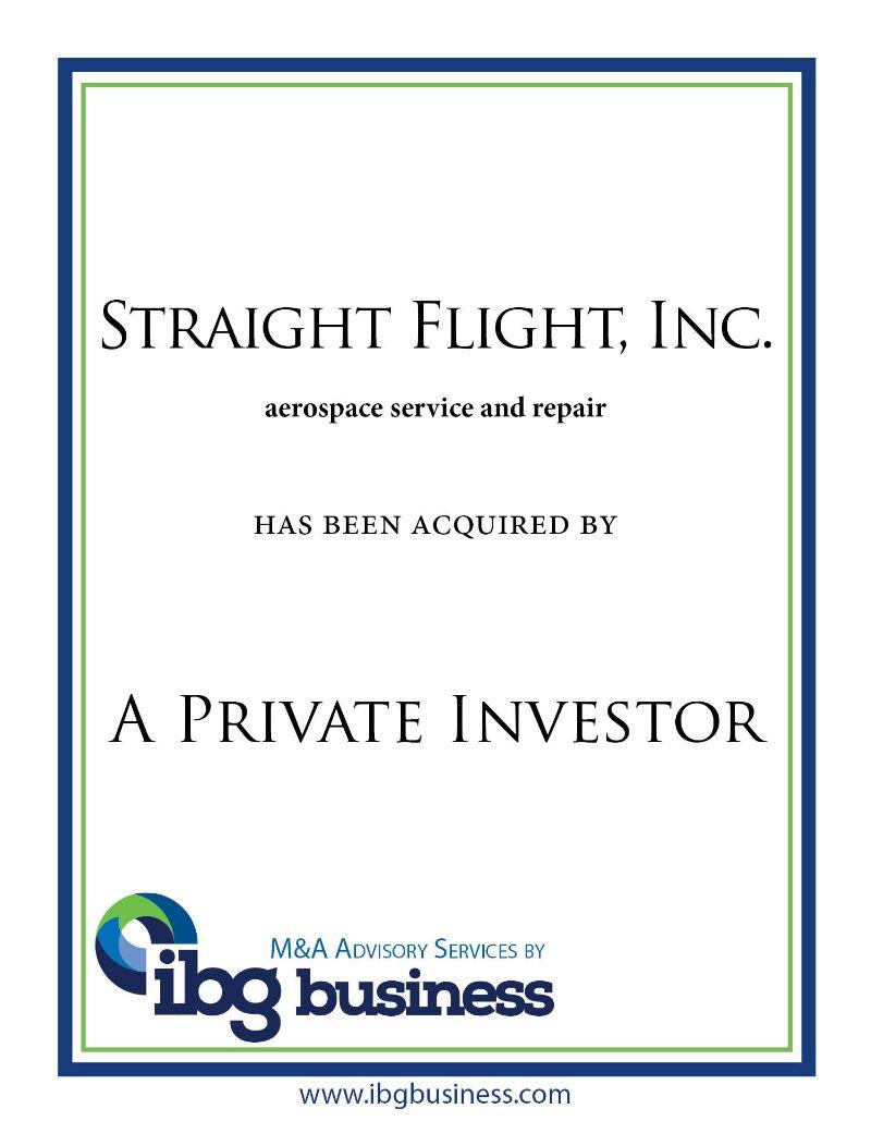 Straight Flight, Inc.