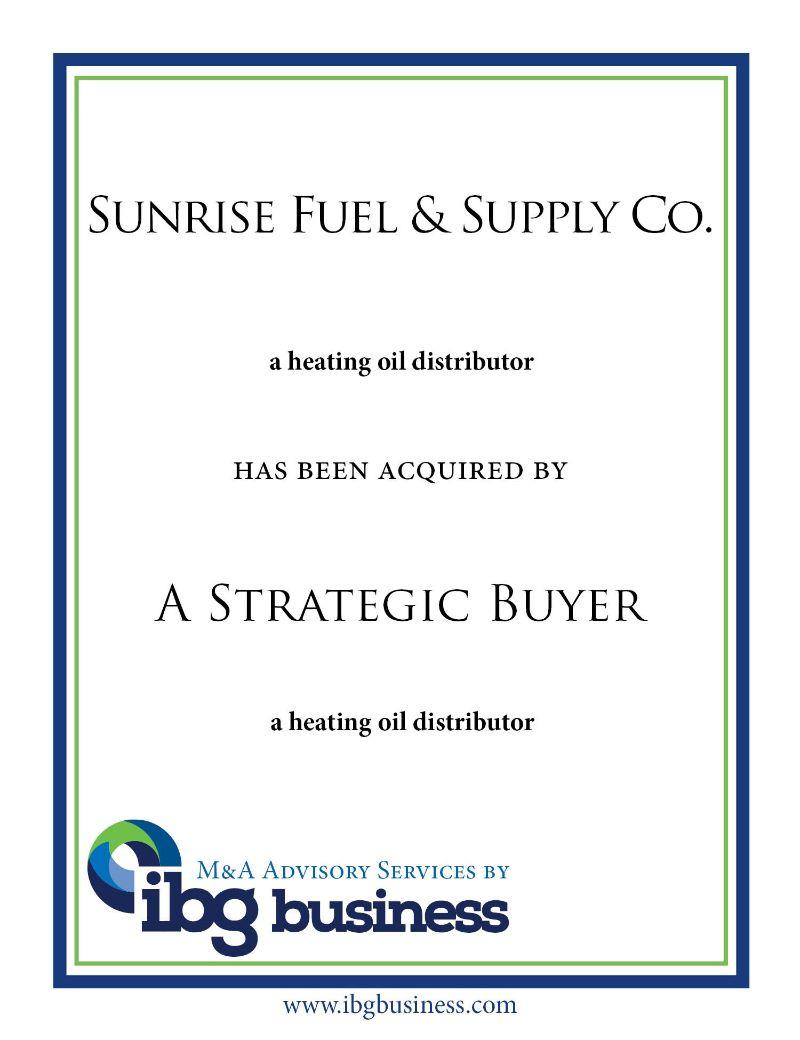 Sunrise Fuel & Supply Co.