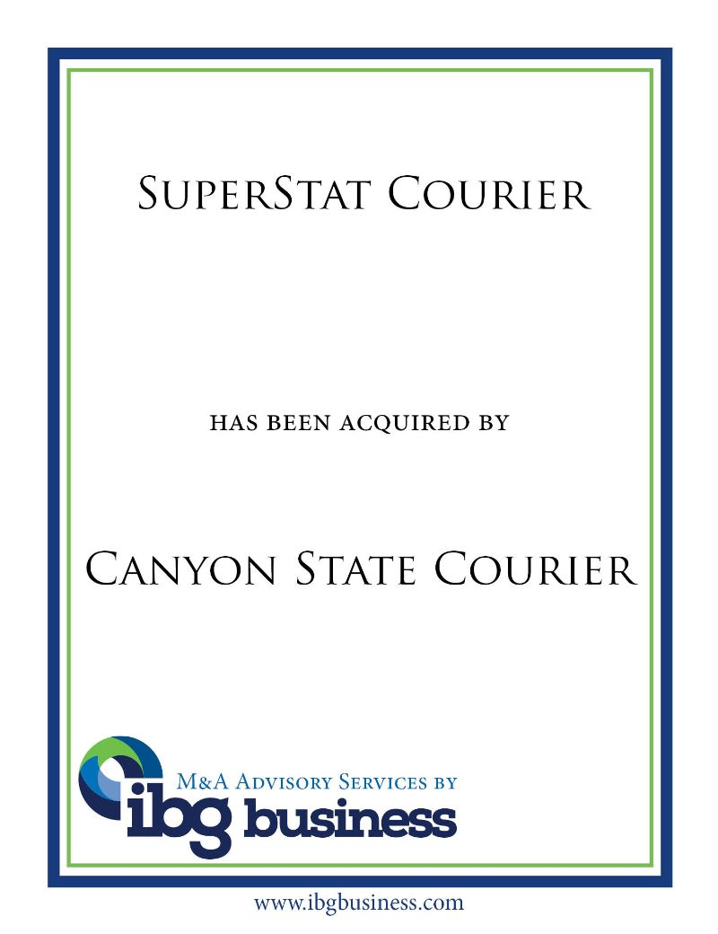 SuperStat Courier