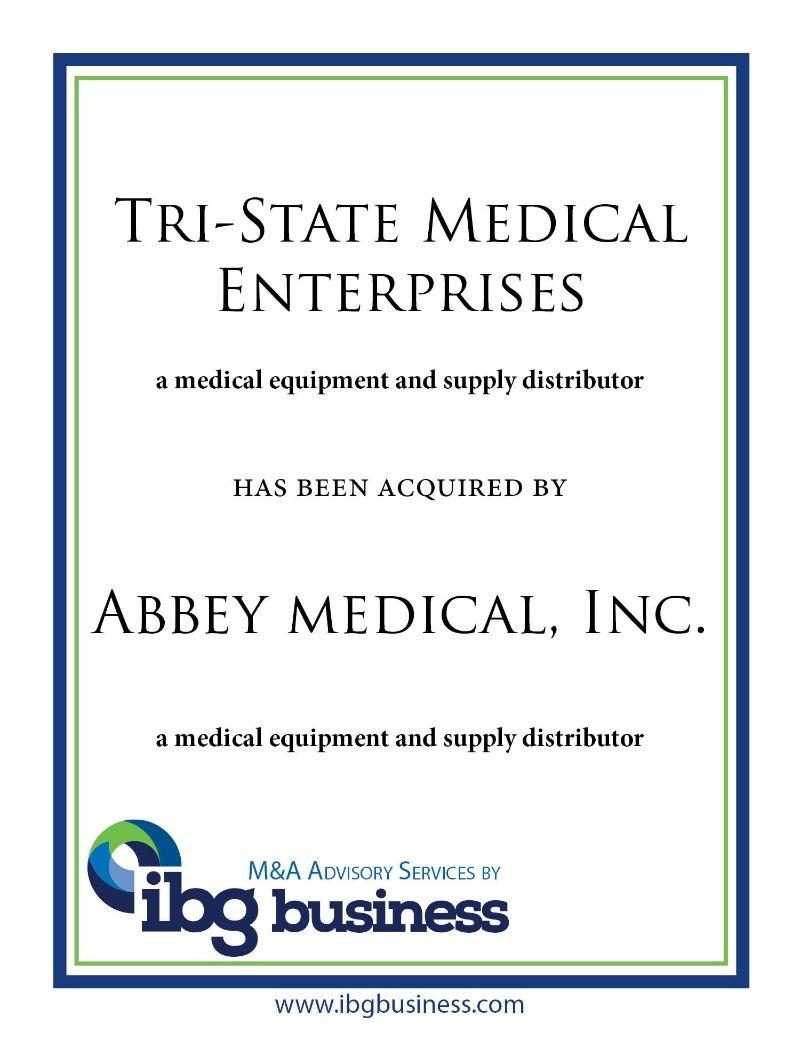 Tri-State Medical Enterprises