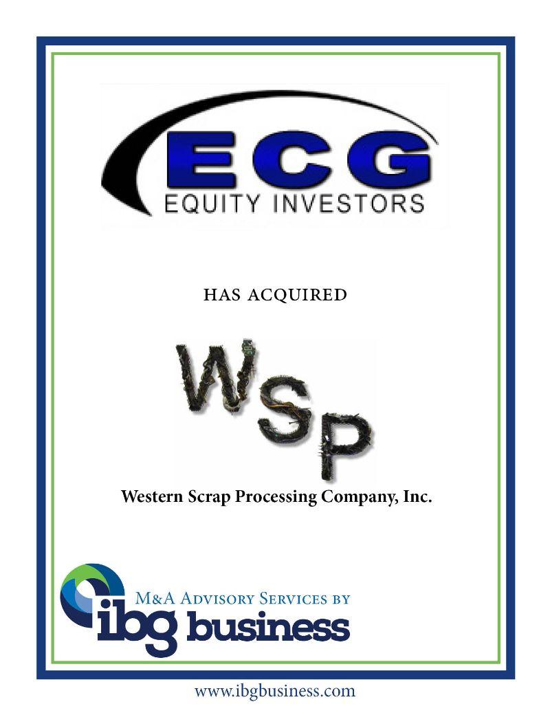 Western Scrap Processing Co, Inc.