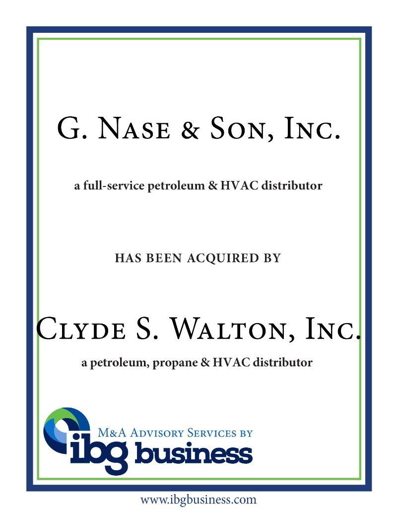 G. Nase and Son, Inc.