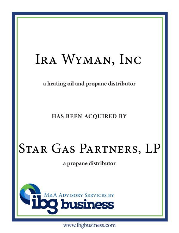 Ira Wyman, Inc.