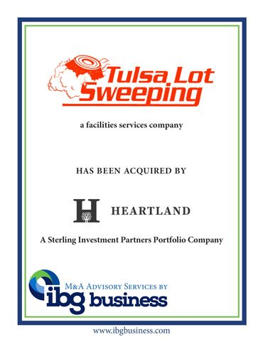 Tulsa Lot Sweeping acquired by Heartland