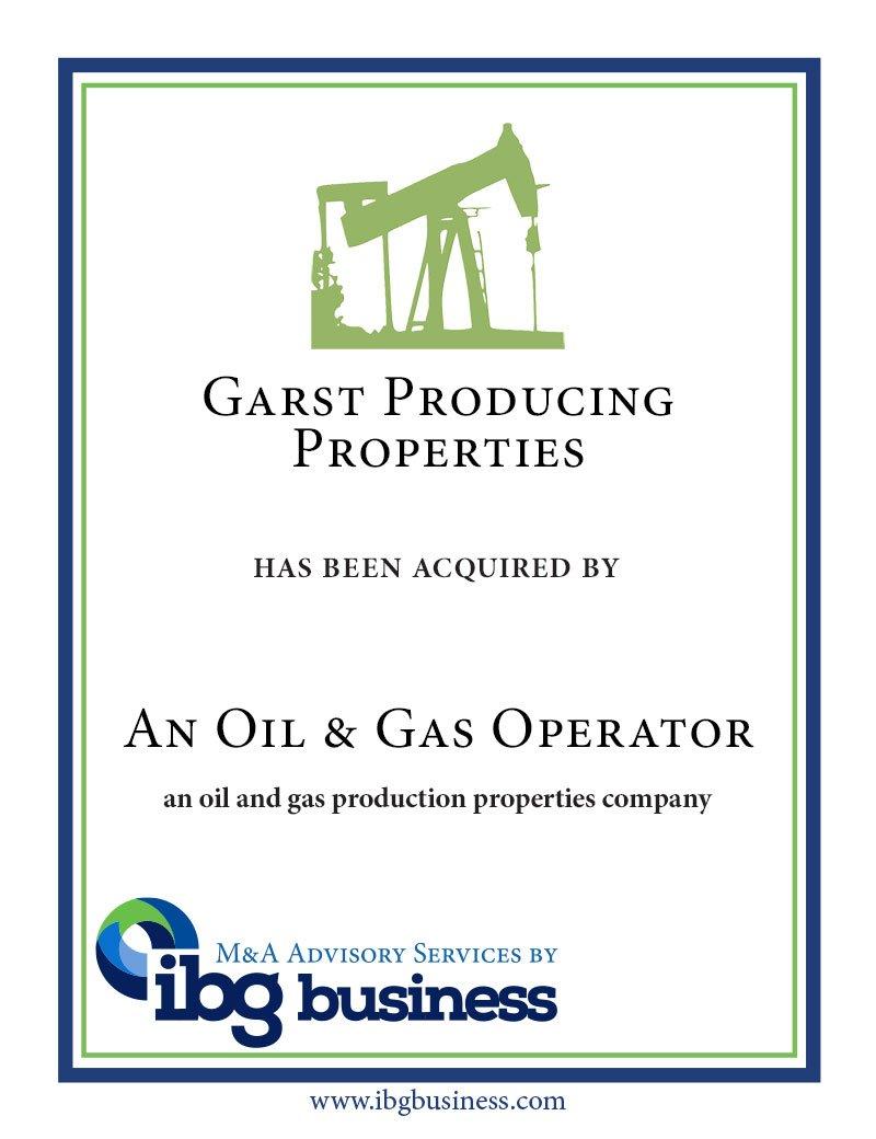 Garst Producing Properties