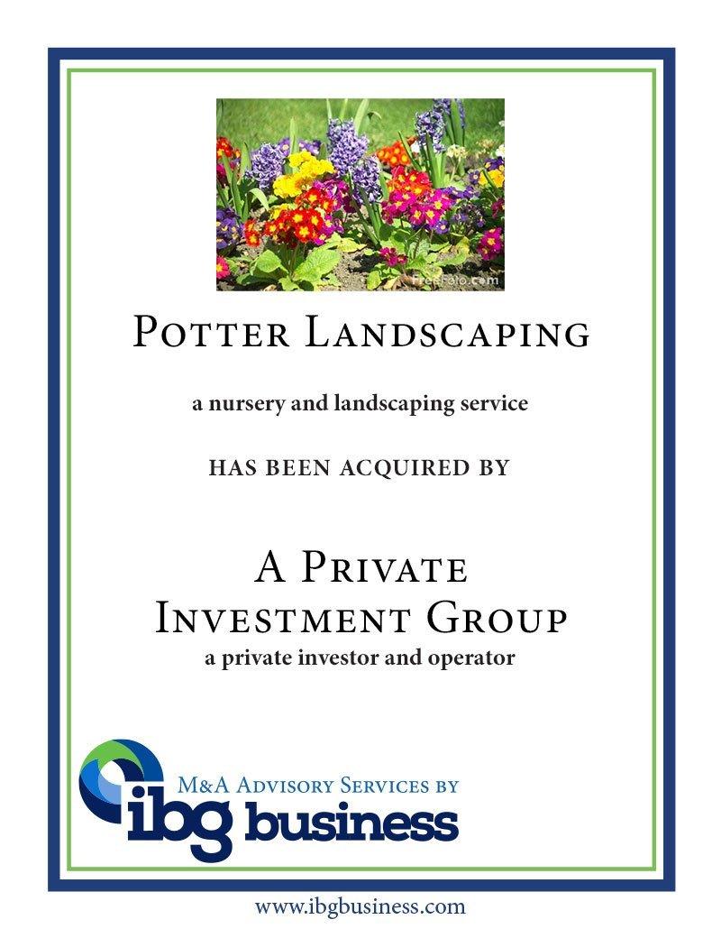 Potter Landscaping
